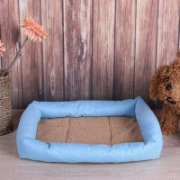 Dog Basket Pad Oxford Cloth Mat Pet Dog Bed Mat Cushion Waterproof Warm Soft Bed House Product For Dog Cat Beds Pet Supplies