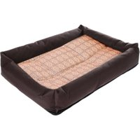 Oxford Cloth Pet Dog Bed Hot Summer Cooling Bed Cushion Basket Pad  Mat for Pet Dogs Cats Size S M L XL